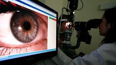 Badanie wzroku / Zdjęcie ilustracyjne