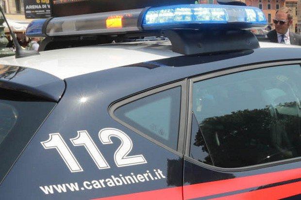 Radiowozy włoskiej policji