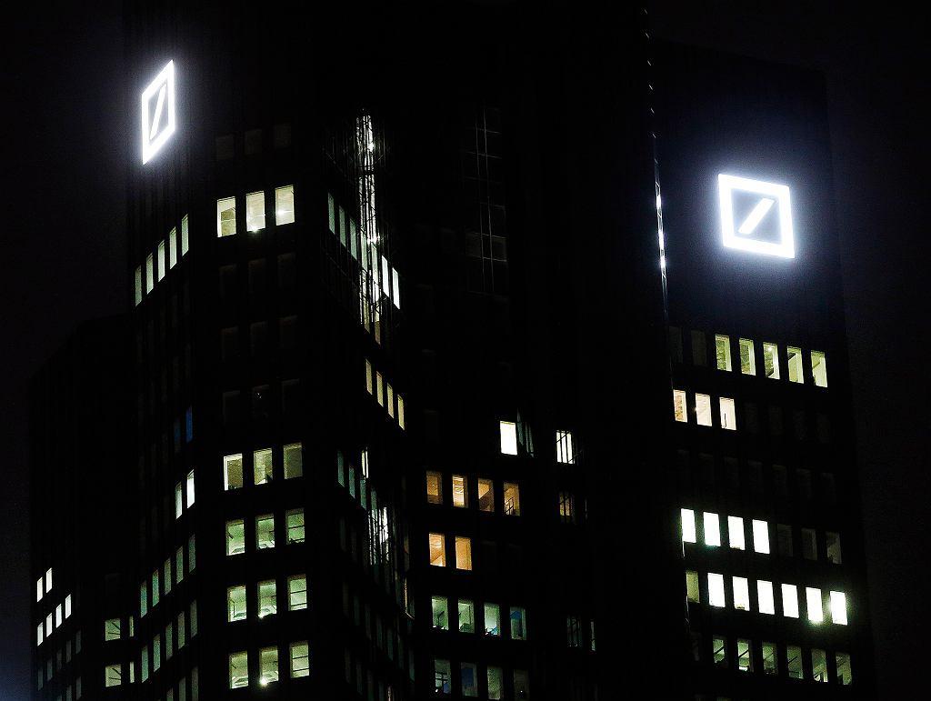 Siedziba Deutsche Banku we Frankfurcie