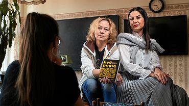 Katarzyna Józefczyk i Marta Oleksik, nauczycielki języka polskiego z XXI LO