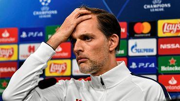Trener PSG ocenił pracę Szymona Marciniaka w meczu Ligi Mistrzów