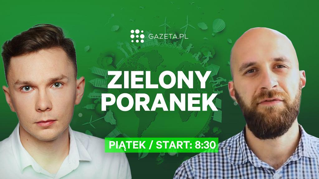 Dr Sebastian Szklarek w Zielonym Poranku Gazeta.pl