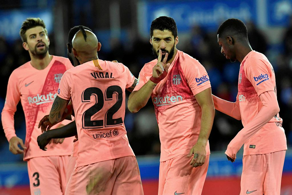 Luis Suarez zdobył gola dla Barcelony