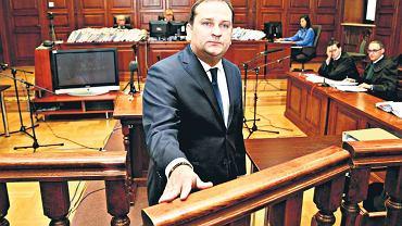 Tomasz Arabski złożył w sądzie krótkie wyjaśnienie. Nie przyznał się do zarzutów