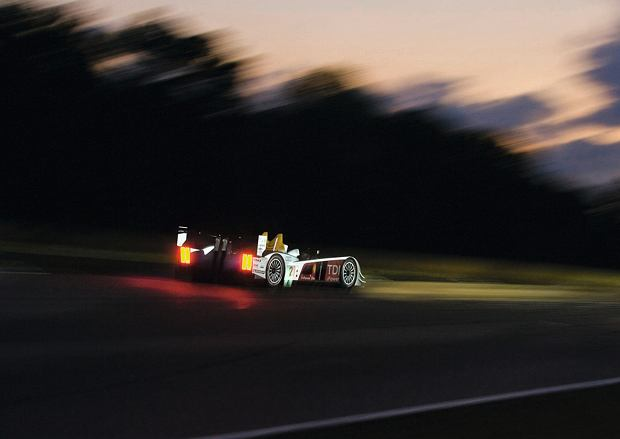 Zwycięskie Audi R10 TDI z Le Mans
