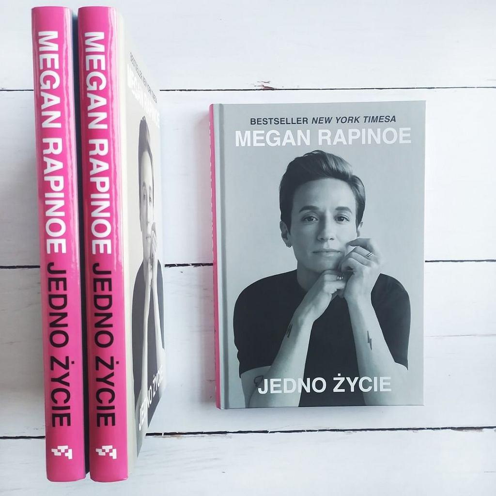 Książka 'Jedno życie ', Megan Rapinoe