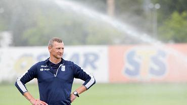 Lech Poznań. Trener Dariusz Żuraw