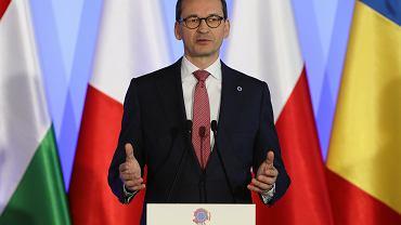 1.05.2019, Mateusz Morawiecki podczas 'Together for Europe' spotkania przywódców państw wschodnioeuropejskich zorganizowanego z okazji 15. rocznicy przystąpienia do Unii Europejskiej.