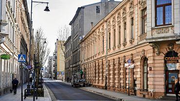 Ul. Nawrot w Łodzi