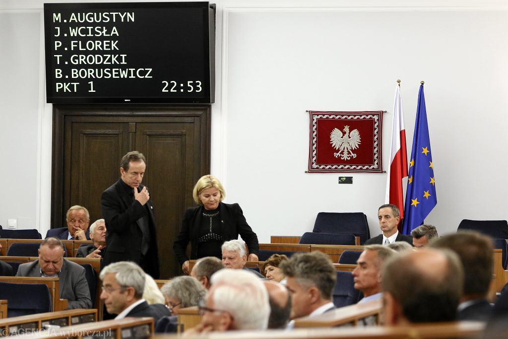 Obrady nad projektem ustawy prawo o ustroju sądów powszechnych