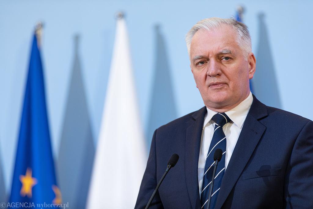 aKonferencja Premiera Mateusza Morawieckiego ws rosnacej liczby przypadkw zarazenia koronawirusem
