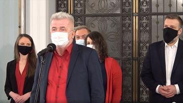 Lewica zaprezentowała kandydaturę Piotra Ikonowicza na RPO