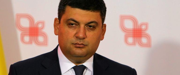 Premier Ukrainy Wołodymyr Hrojsman ustąpił. Będą przyśpieszone wybory