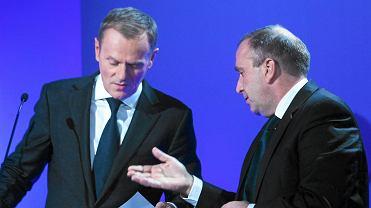 Donald Tusk, Grzegorz Schetyna