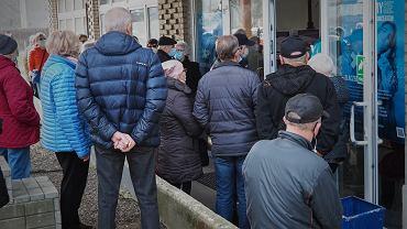 Punkt szczepień w Łodzi / zdjęcie ilustracyjne