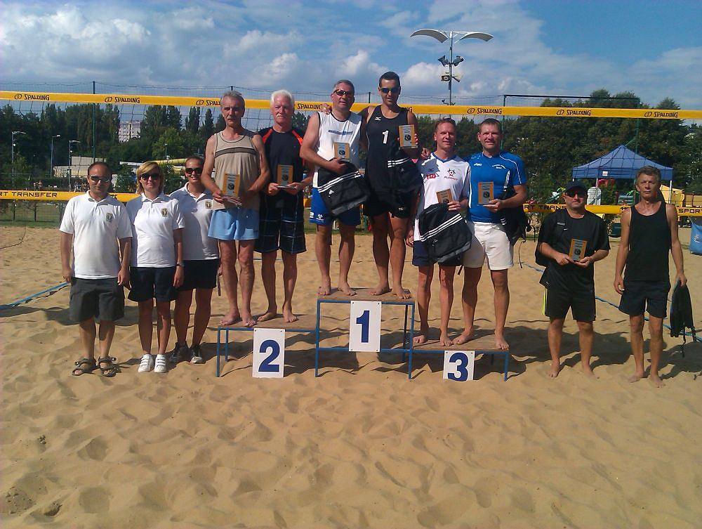 Mistrzostwa Częstochowy 40-latków w siatkówce plażowej