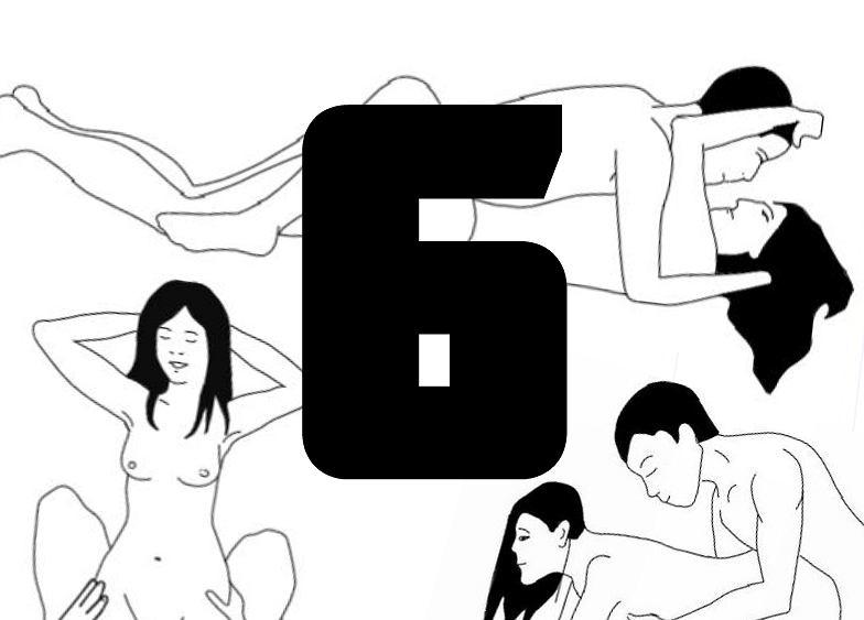 Sześć pozycji seksualnych