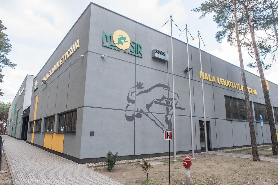 Hala lekkoatletyczna przy ul. Sulechowskiej została przekształcona w masowy punkt szczepień na COVID-19