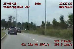 Nie miał prawa jazdy i pędził 170 km/h po Gdańsku