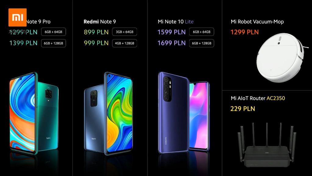 Xiaomi Redmi Note 9 i 9 Pro debiutują w Polsce