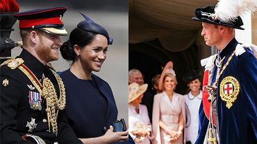 Książę Harry, Meghan Markle, książę William księżna Kate