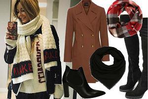fot. Instagram Rozenek/ modne ubrania na zimę