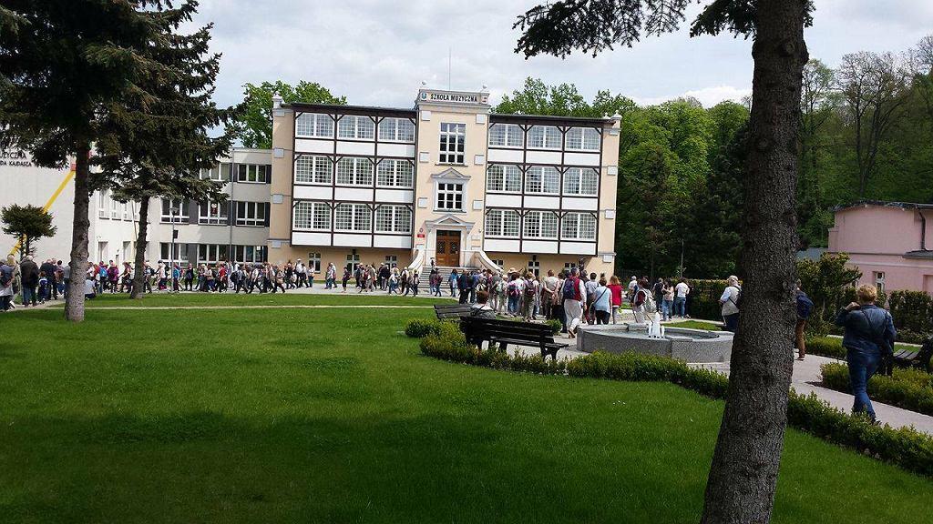 Szkoła muzyczna w Trzebnicy (dawny Dom Zdrojowy)