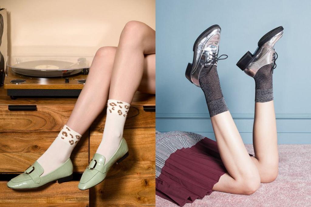 skarpetki damskie do sneakersów