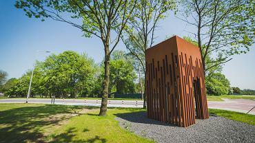 Miejsce przyszłego osiedla w Bronowicach - kapliczka