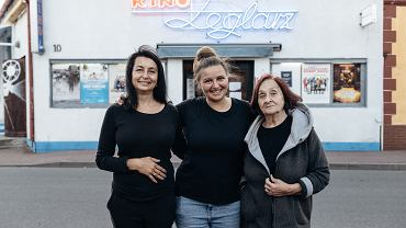 Dagmara, Patrycja i Urszula Blindow - kino 'Żeglarz'