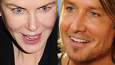 Naszą uwagę zwróciły podejrzanie gładkie twarze Nicole Kidman i Keitha Urbana. Wygląda na to, że uzależnienie od zabiegów upiększających 'przeszło' także na jej męża.