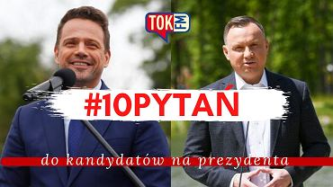 #10pytań do kandydatów. Zadaliśmy je Andrzejowi Dudzie i Rafałowi Trzaskowskiemu. Czekamy na odpowiedzi!