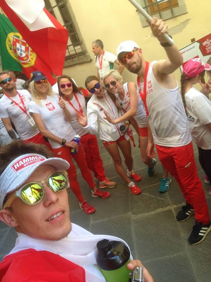 ekipa przed startem
