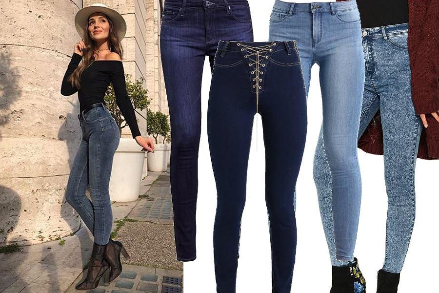 Kolaż, jeansy/Materiały partnera