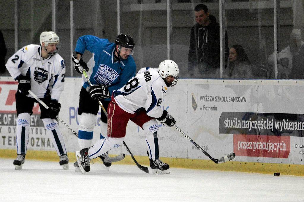 Hokej Poznań - Mad Dogs Sopot 2:7 w finale II ligi gr. północnej hokeja na lodzie