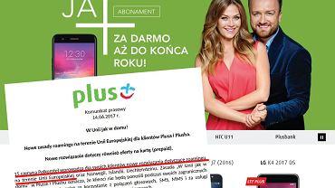 Plus znosi opłaty roamingowe
