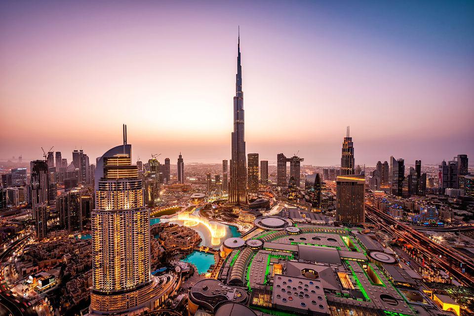 Zjednoczone Emiraty Arabskie, Dubaj. Panorama miasta