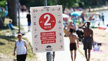 W Szwecji podjęto bardzo liberalną walkę z COVID-19