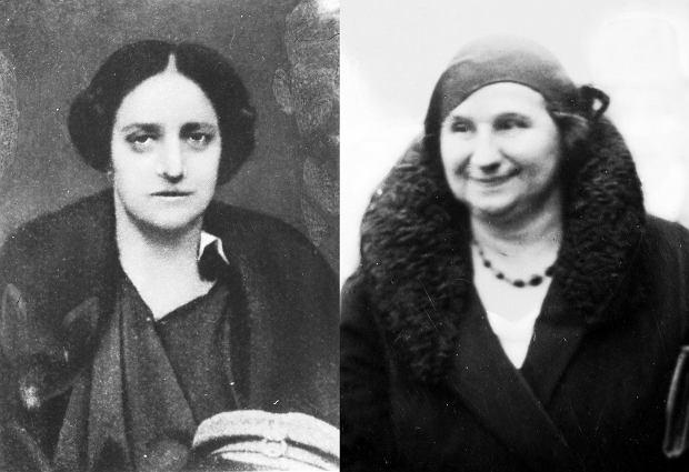 Aleksandra Piłsudska i Janina Prystor