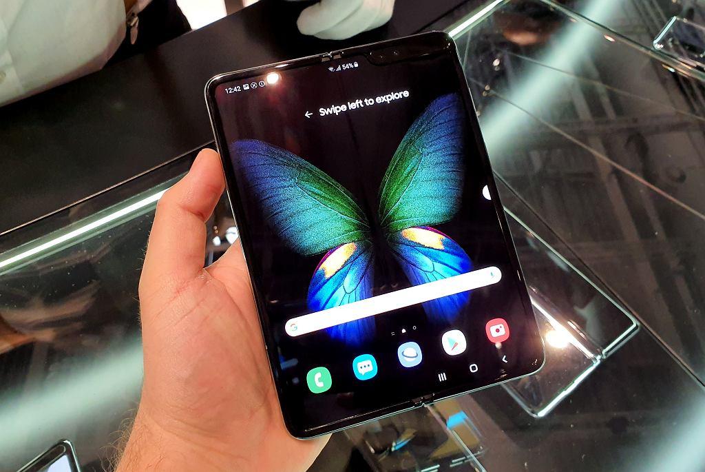 IFA 2019: Samsung Galaxy Fold w naszych rękach