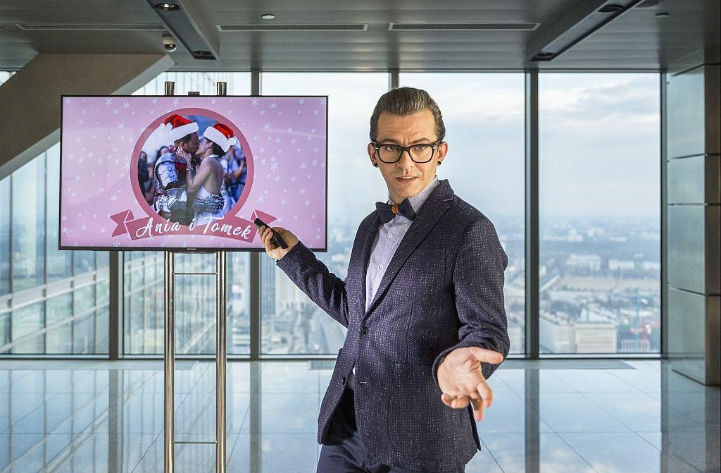 Piotr Głowacki w filmie ''Planeta singli 2''