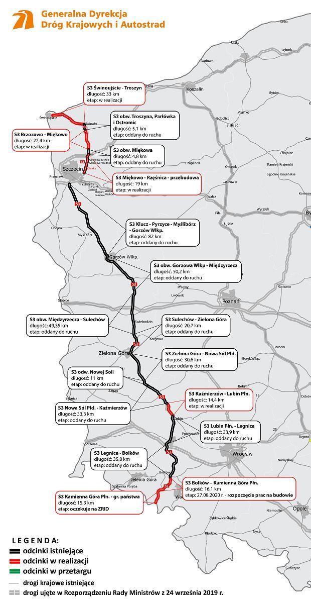 Trasa S3, Środkowoeuropejski Korytarz Transportowy