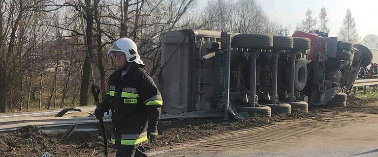 Wypadek na Zakopiance. Duże utrudnienia w ruchu drogowym