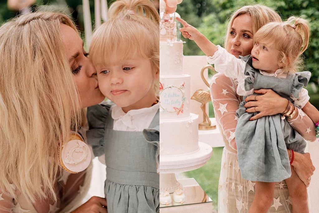 urodziny córki Anny Skury