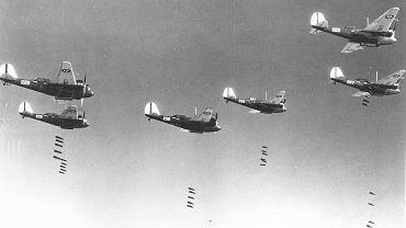 Amerykańskie bombowce podczas II wojny światowej (zdjęcie ilustracyjne)