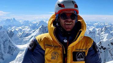 Oswald Rodrigo Pereira na szczycie Broad Peak!