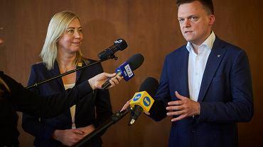 Hołownia wskazał kandydatkę na przewodniczącą koła poselskiego Polska 2050