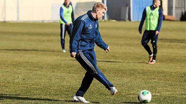 Igor Tyszczenko na treningu Arki