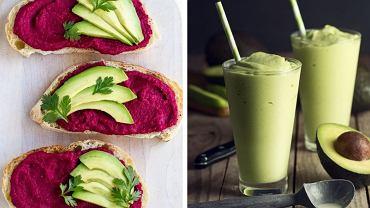 Śniadania z awokado w roli głównej są zdrowe i sycące.