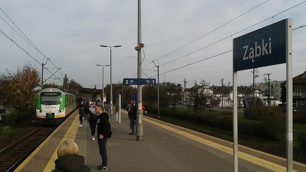 Stacja PKP w Ząbkach (zdjęcie ilustracyjne)